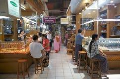 Bogyoke Aung San Market, Yangon, Myanmar Royalty Free Stock Image