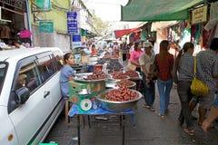 Bogyoke Aung San Market, Yangon, Myanmar Stock Image
