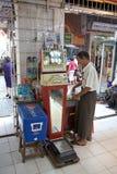 Bogyoke Aung San Market, Yangon, Myanmar Royalty Free Stock Photos