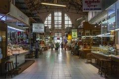 Bogyoke-Markt - Rangun - Myanmar (Birma) Stockfotos