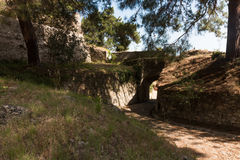 Bohali-Schloss, Zakynthos-Stadt, Griechenland stockbild