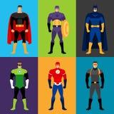 Bohaterów kostiumy Obraz Stock