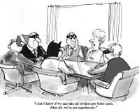Bohaterów prawnicy royalty ilustracja