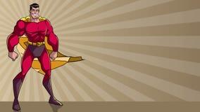 Bohater Stoi Wysokiego Ray światła tło zbiory