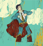 bohatera biuro royalty ilustracja
