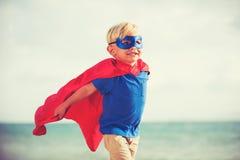 Bohatera dzieciak obrazy royalty free