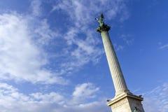 Bohatera ` kwadrat w Budapest zdjęcia stock