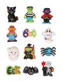 bohaterowie Halloween. Obrazy Stock