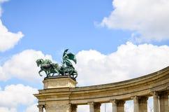 Bohaterzy Obciosują - Budapest, Węgry obrazy royalty free