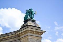 Bohaterzy Obciosują - Budapest, Węgry Fotografia Royalty Free