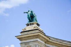 Bohaterzy Obciosują - Budapest, Węgry Obraz Stock