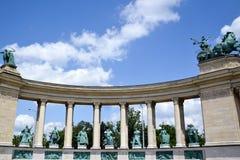 Bohaterzy Obciosują - Budapest, Węgry Obrazy Stock