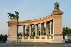 Bohaterzy Obciosują, Budapest Zdjęcia Stock
