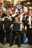 Bohaterzy wojny światowa II.Chorus weterani. zdjęcie stock