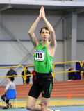 Bohdan Bondarenko win high jump Royalty Free Stock Photos