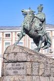 bohdan khmelintsky памятник kiev стоковое изображение rf