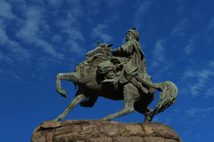 Bohdan Khmelnytsky monument Stock Photos