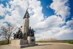 Bohdan Khmelnytsky monument Stock Photography