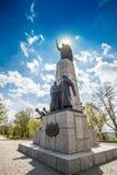 Bohdan Khmelnytsky monument Stock Photo