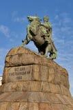 Bohdan Khmelnytsky monument in Kiev, Ukraine. stock image