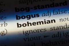 boheems royalty-vrije stock foto