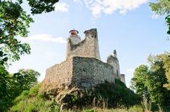 Boheems kasteel Kostomlaty Stock Afbeelding