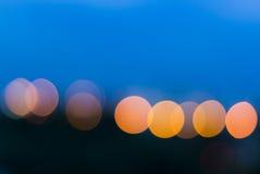 Boheh światło Fotografia Royalty Free