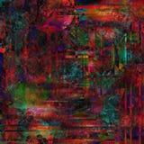 Bohemian Batik Background Stock Image