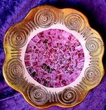Bohemian bowl, photographed in South Africa