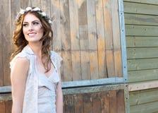 Bohemian Bride stock image
