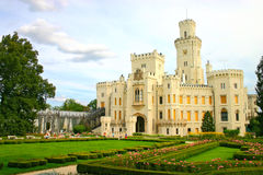Bohemian castle Stock Image