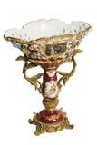 Bohemian china vase Royalty Free Stock Images