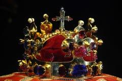 Bohemian Crown Jewels in Prague, Czech Republic stock photos
