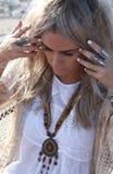 Bohemian fashion Royalty Free Stock Images