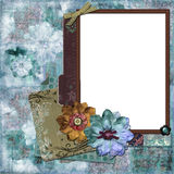 Bohemian Floral Background Stock Photography