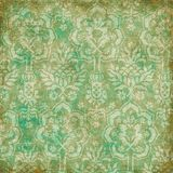 Bohemian Floral Background royalty free illustration