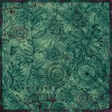 Bohemian Floral Background Royalty Free Stock Photography