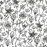 Bohemian floran pattern Royalty Free Stock Photography
