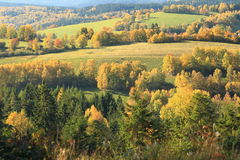 Bohemian forest in autumn Royalty Free Stock Photos