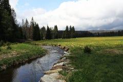 Bohemian Forest landscape in the vicinity of Modrava,  (czech: Šumava) Czech republic Stock Images
