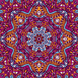 Bohemian Geometric mandala print. Tribal art seamless pattern. India Festival Ethnic geometric print. Colorful repeating background texture. Fabric, cloth design Royalty Free Stock Photos