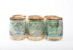 Bohemian glass Stock Images