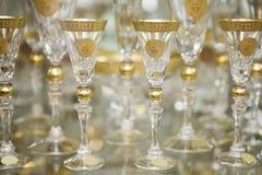 Bohemian glass royalty free stock image
