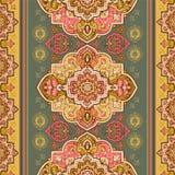 Bohemian Indian Mandala print. Vintage Henna tattoo style Stock Photos