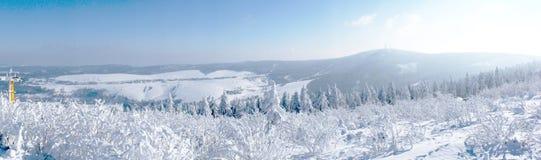 The Bohemian Ore Mountains Royalty Free Stock Image