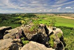 Bohemian Paradise. (Cesky raj near the Turnov) Czech Republic stock photography