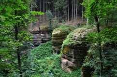 Bohemian paradise, Czech republic Stock Photos