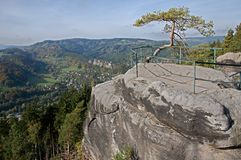 Bohemian Paradise, Czech republic Stock Image
