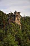 Bohemian Paradise. Prihrazske rocks near Prihrazy - Czech Republic royalty free stock photo