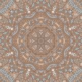 Bohemian repeating background texture seamless pattern vector royalty free stock image